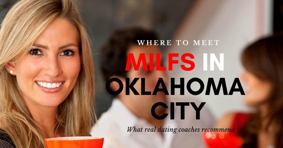 A MILF in Oklahoma City enjoying drinks