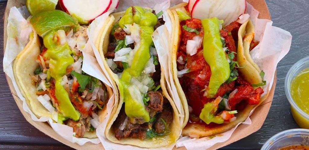 A full order of Chandos Tacos