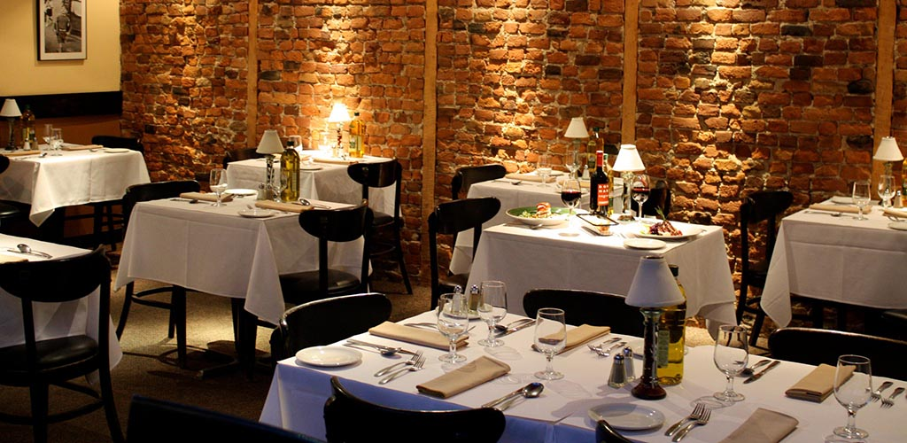 The classy dining area of Ciccio Cafe