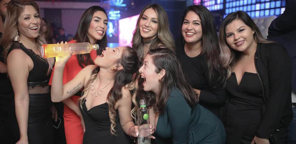 Gorgeous ladies at Club db Lounge