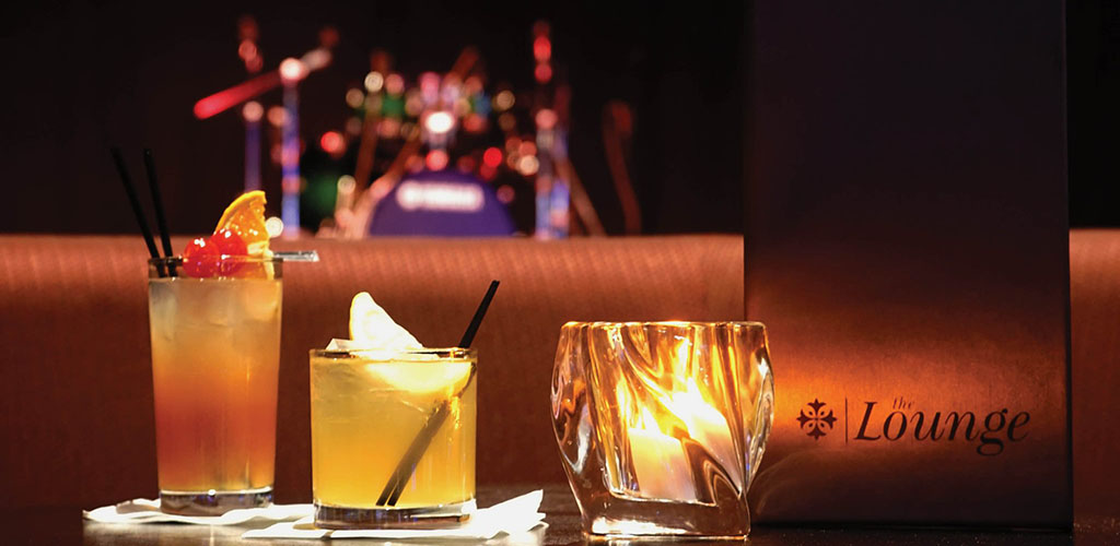 Some of the best drinks at the Excalibur Hotel and Casino