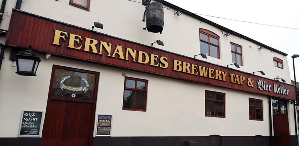 Exterior of Fernandes Brewery Tap