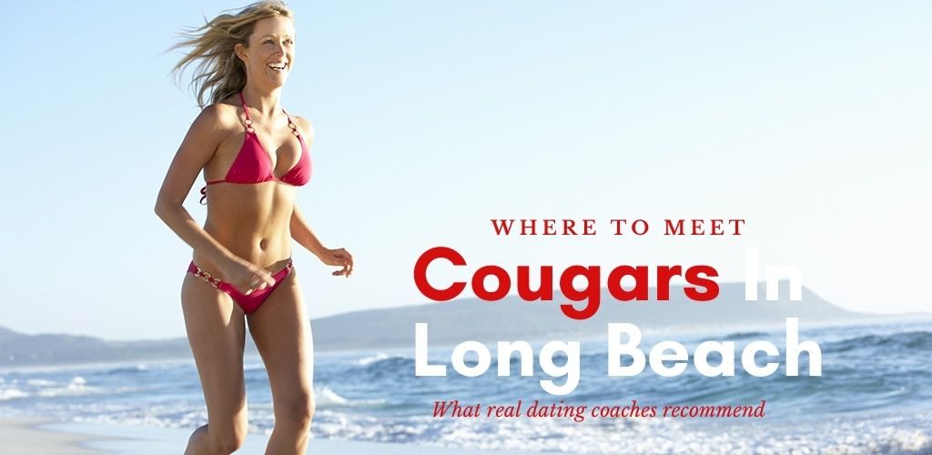 A fit Long Beach cougar enjoying a day at the beach