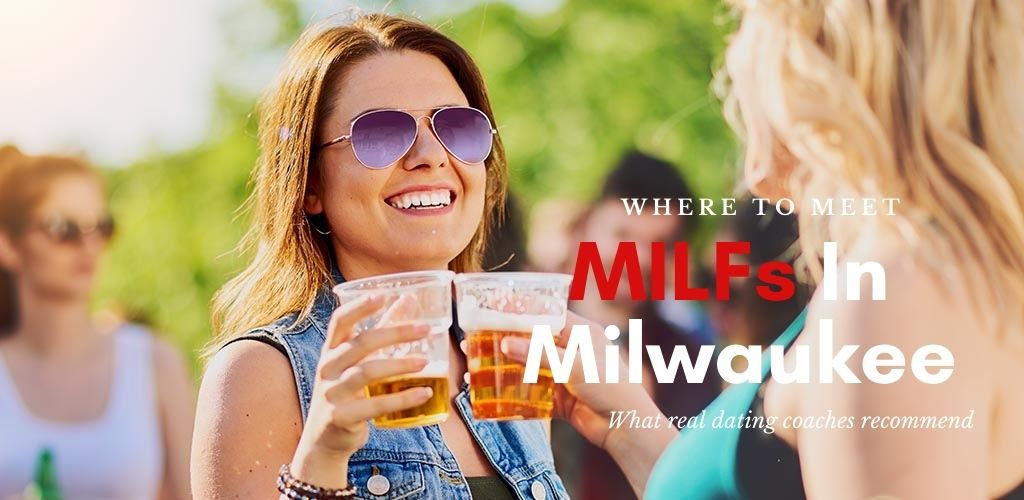 Milwaukee MILFs enjoying beers at an outdoor party