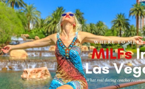 A Las Vegas MILF enjoying the sun outside a casino