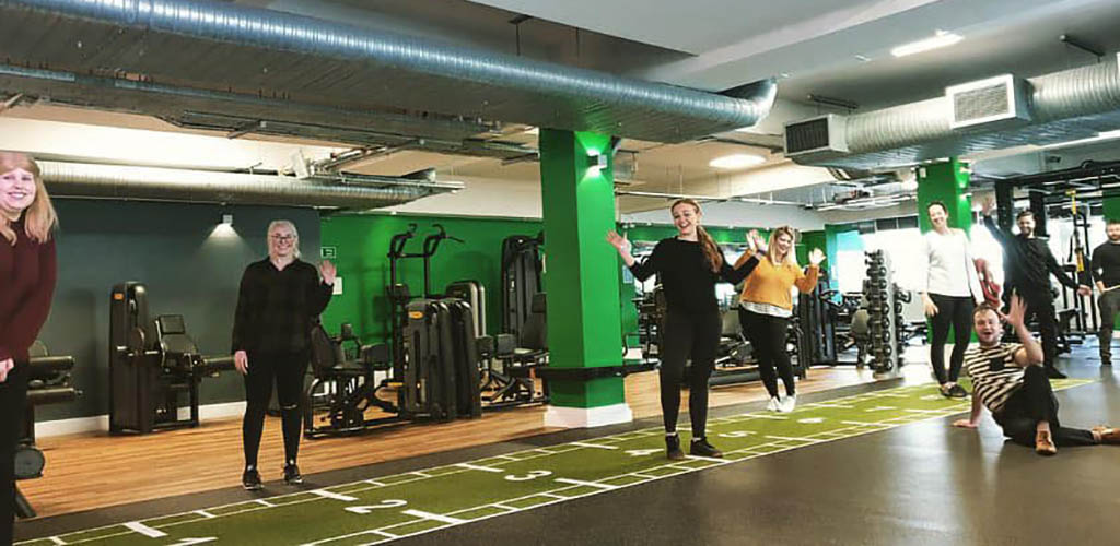 Women working out at Nuffield Health