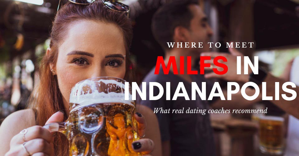 An Indianapolis MILF drinking beer