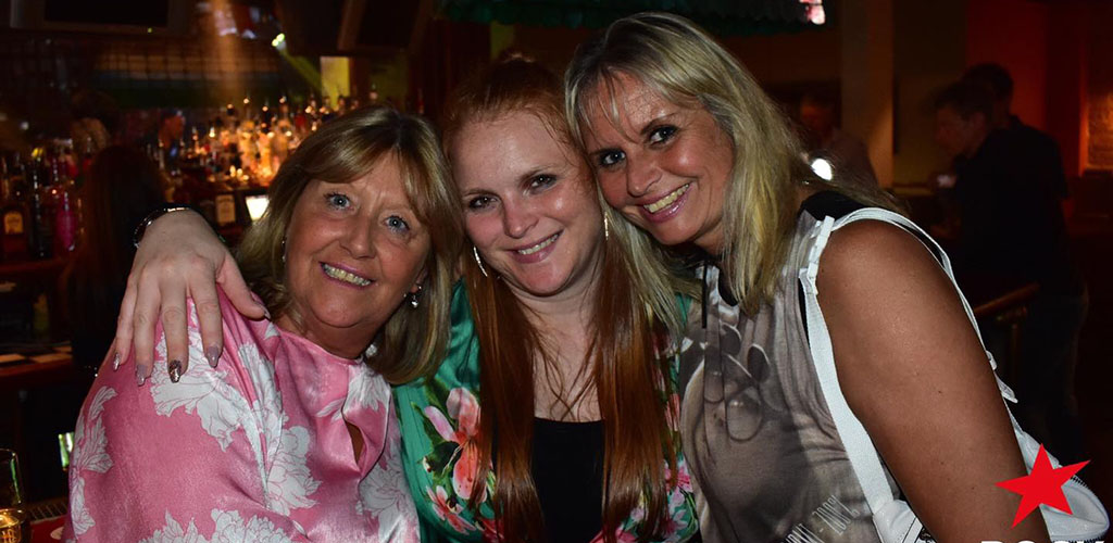 Cougars in Kirklees on a night out at Rock Cafe