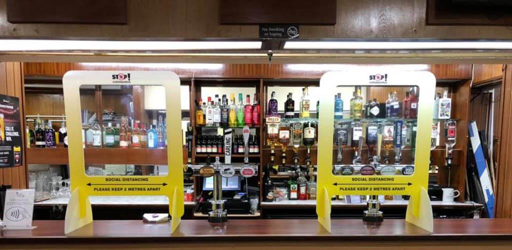 The bar at The Joeys Club