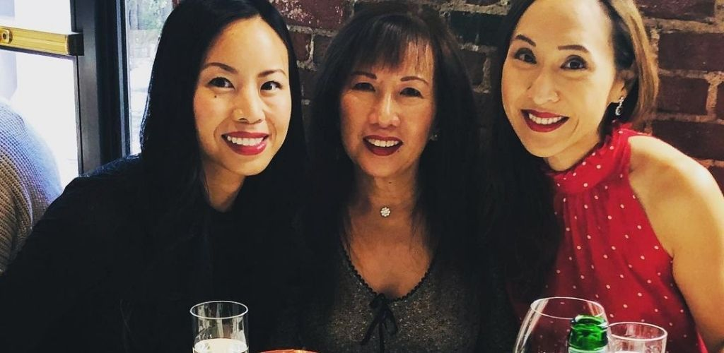Boston MILFs hanging out around drinks at Scampo
