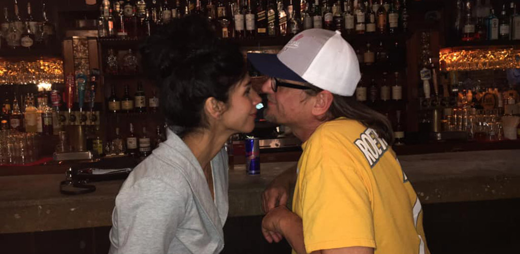 A sweet couple at Whiskey Chicks