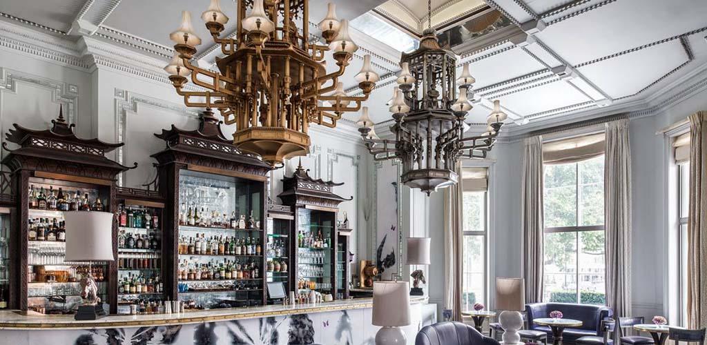 The bright interior of Artesian Bar