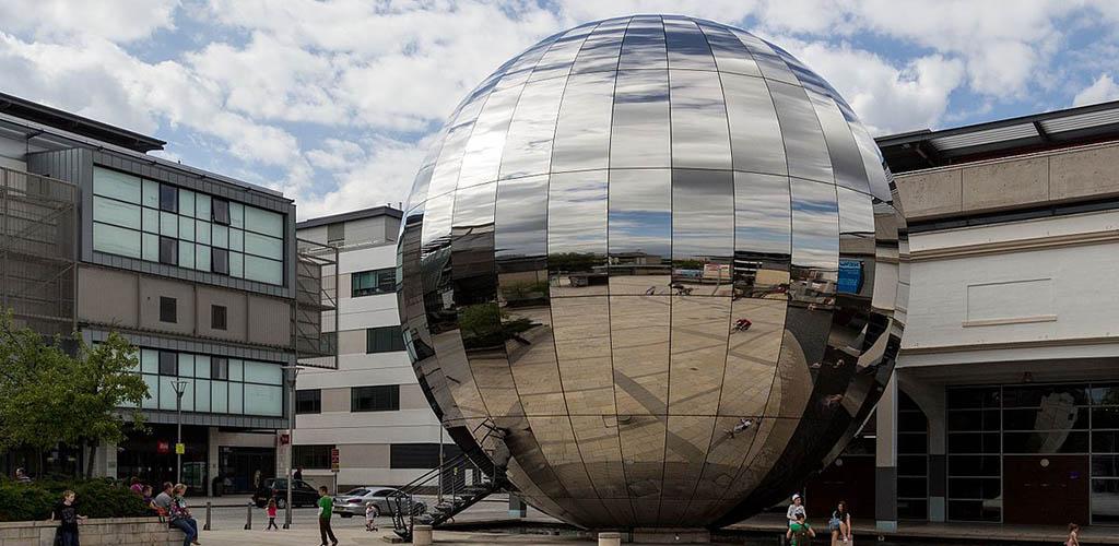 Exterior of Bristol Planetarium