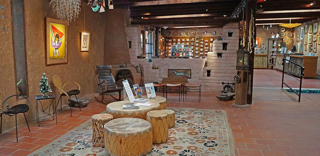 The gift shop of De Grazia Art Gallery