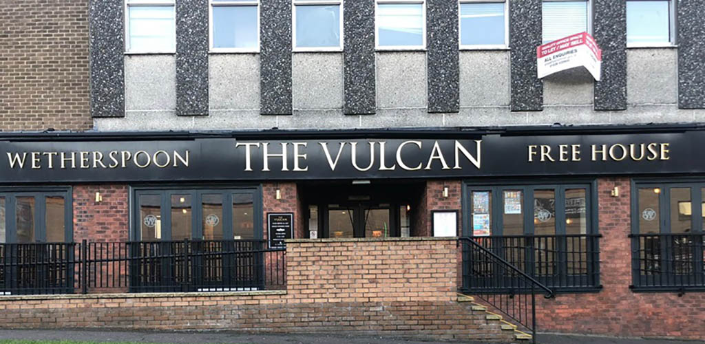 Outside The Vulcan