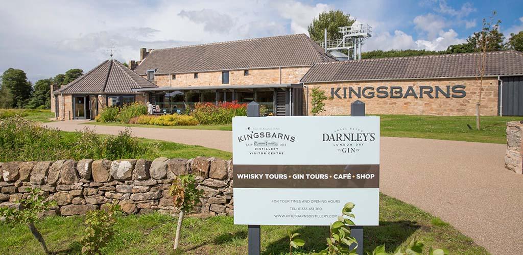 Exterior of Kingsbarns Distillery Founders' Club