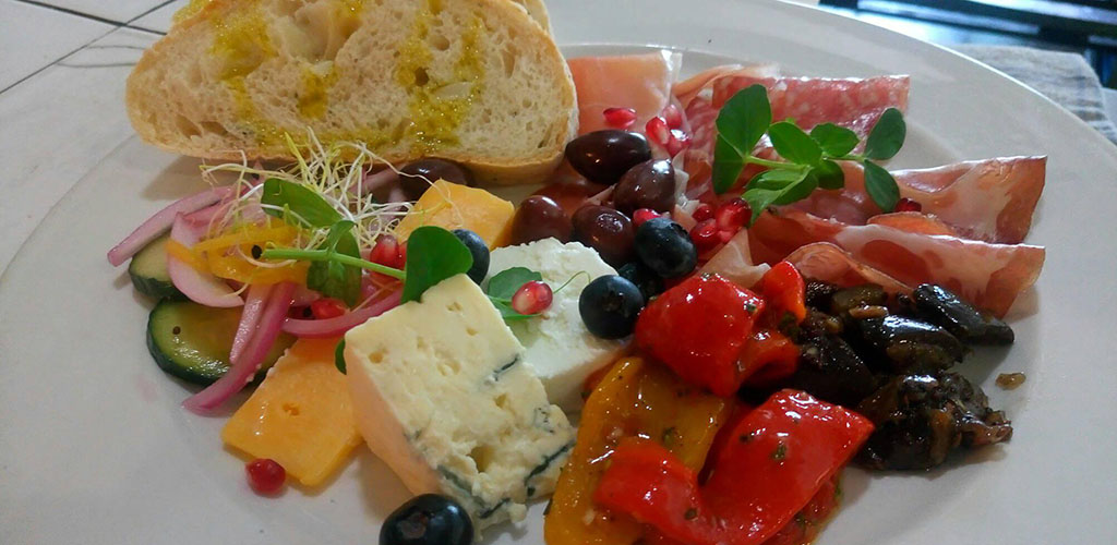 Appetizers from Parc Cafe