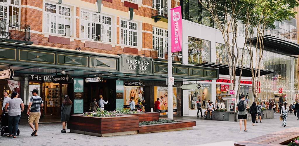 The Queen Street Mall