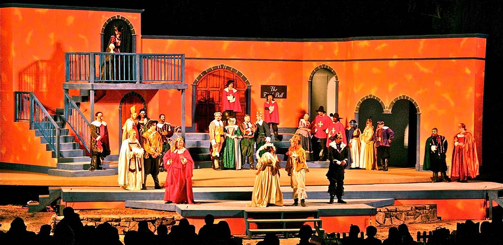 Production of the Summer Shakespeare Festival