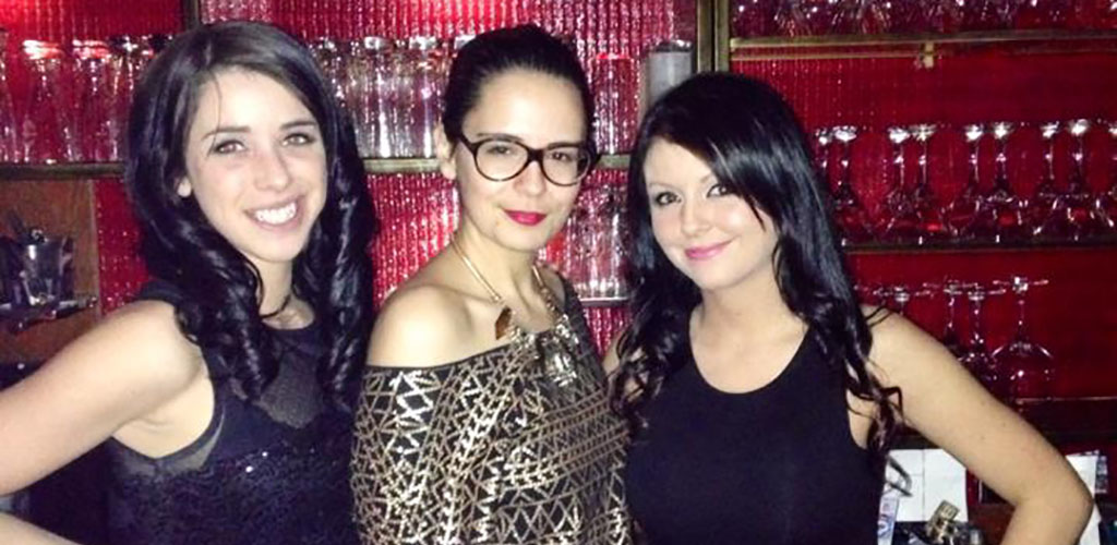 Mature women on a night out at Societe Cigare