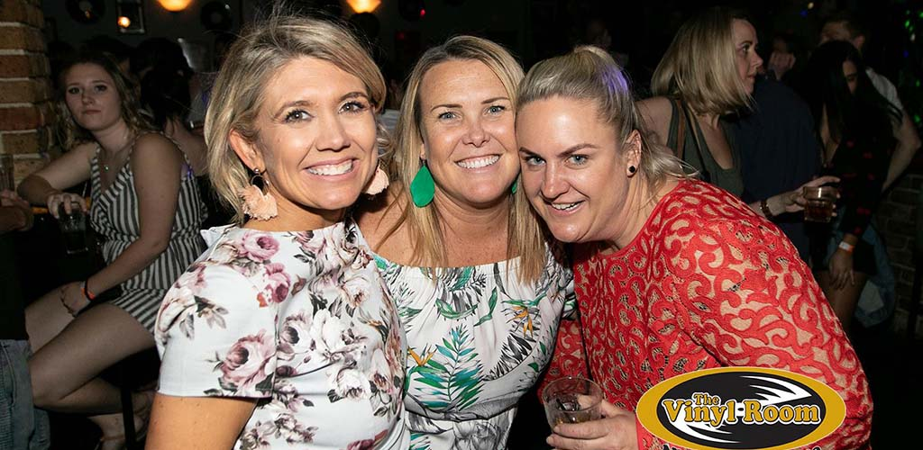 Mature women partying at The Vinyl Room