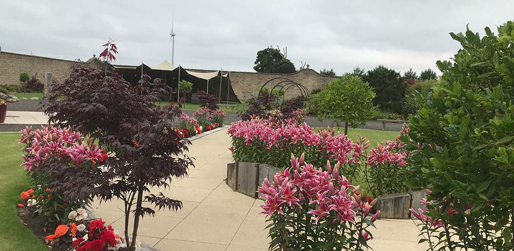 The beautiful Walled Garden