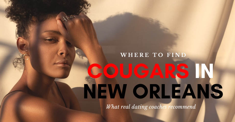 A New Orleans cougar at sunset