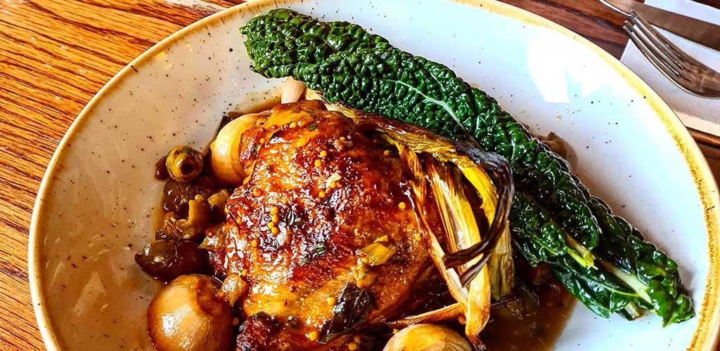 Braised chicken from Burwood Inn