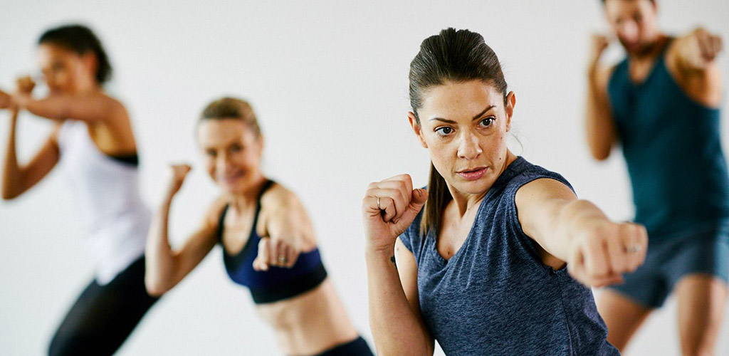 Boxing classes at Genesis Fitness