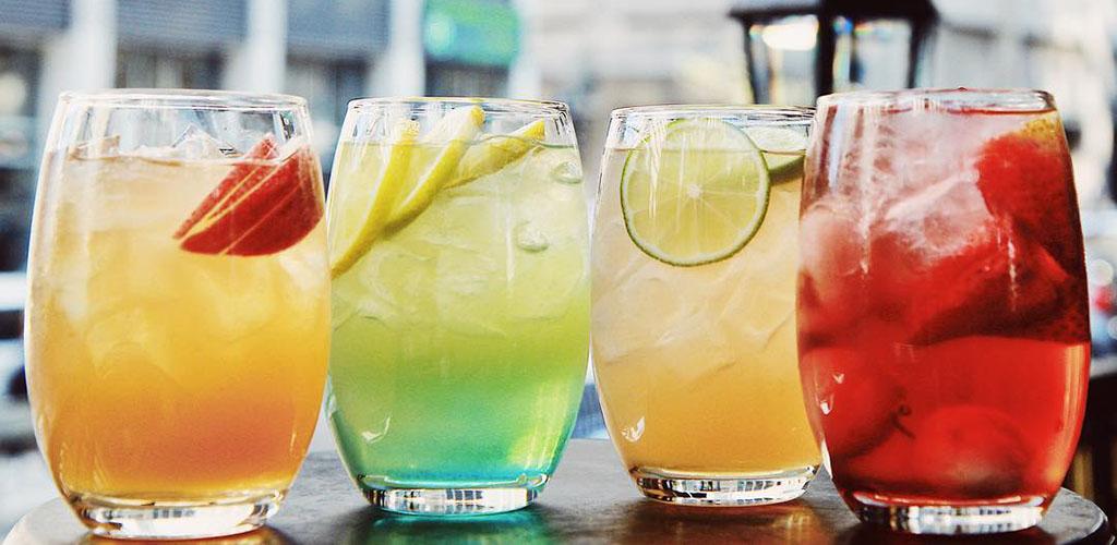 Cocktails from House of Jazz La Maison du Jazz