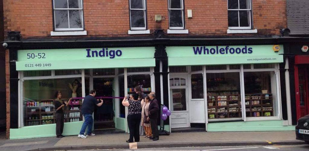 Exterior of Indigo Wholefoods