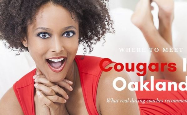 Cougars in Oakland California know how to dress for success