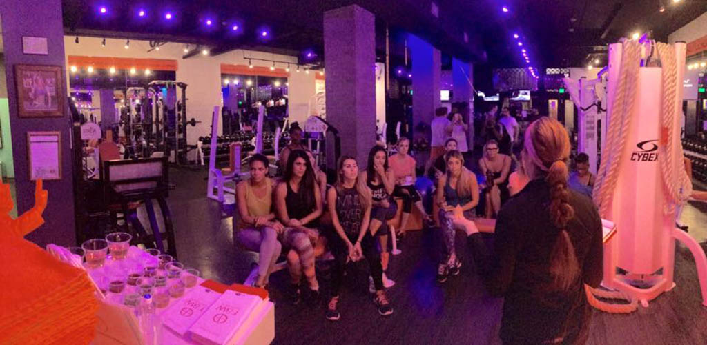 Women in a workout class at Prime Fitness RX