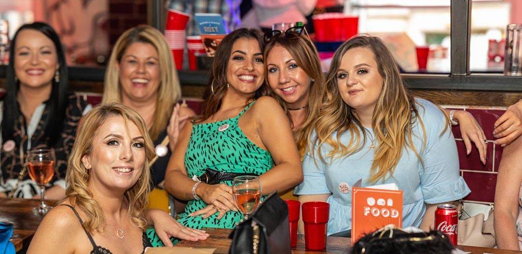 Sexy older women enjoying a night out at Roxy Ballroom