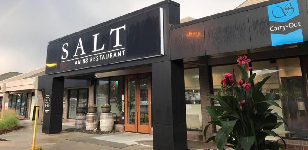The classy exterior of Salt 88