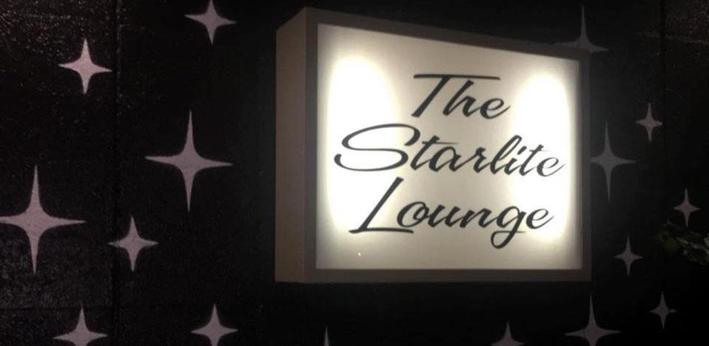 Silver Fox Starlite Lounge signage