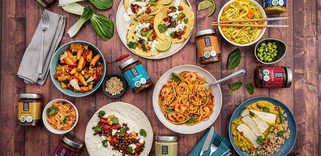 Various dishes you can make with ingredients from Beanies Wholefoods