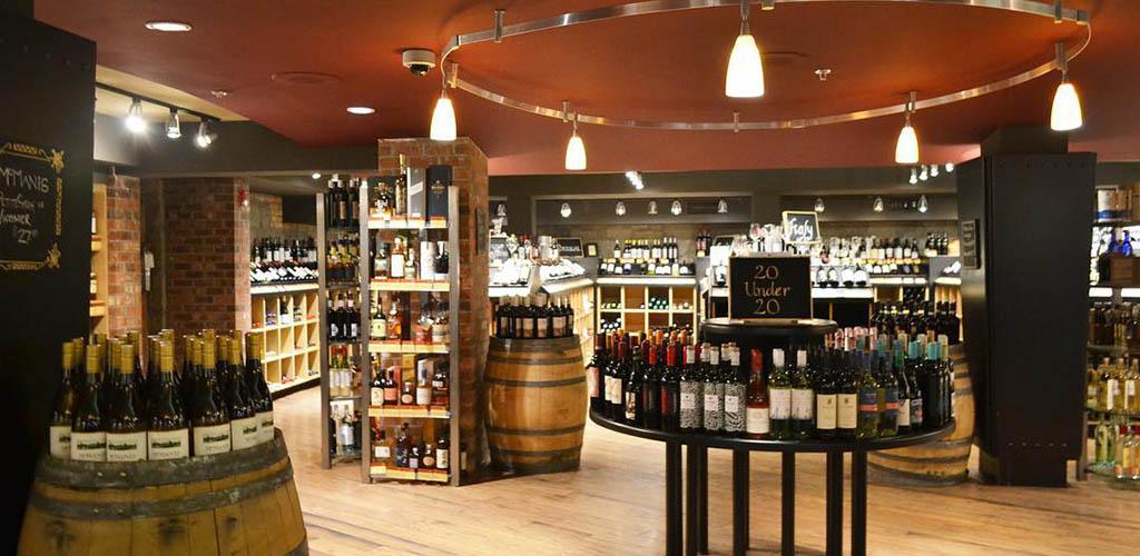 Inside Cellar Wine Store