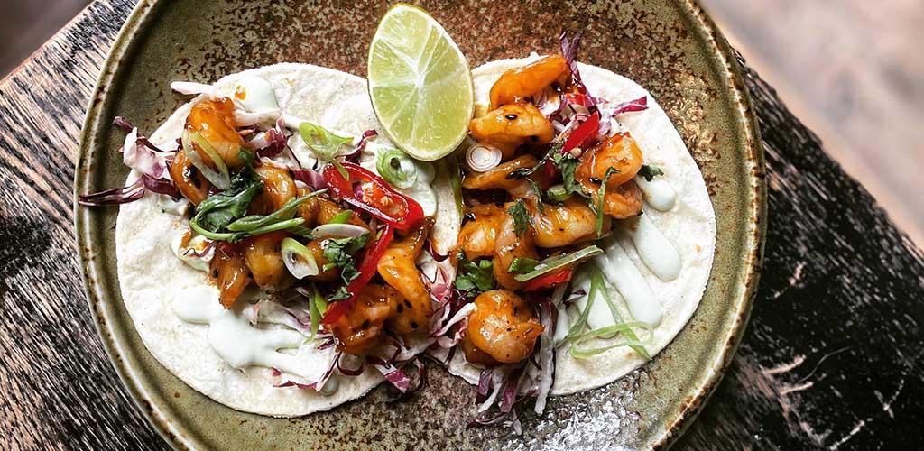 Fish tacos from Chinaskis