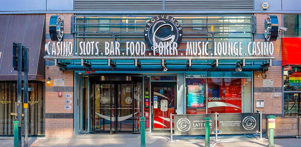 Exterior of the Grosvenor Casino