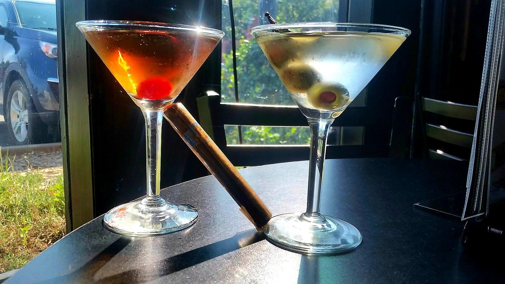 Visit Mort's Martini and Cigar Bar for a smooth and seductive atmosphere