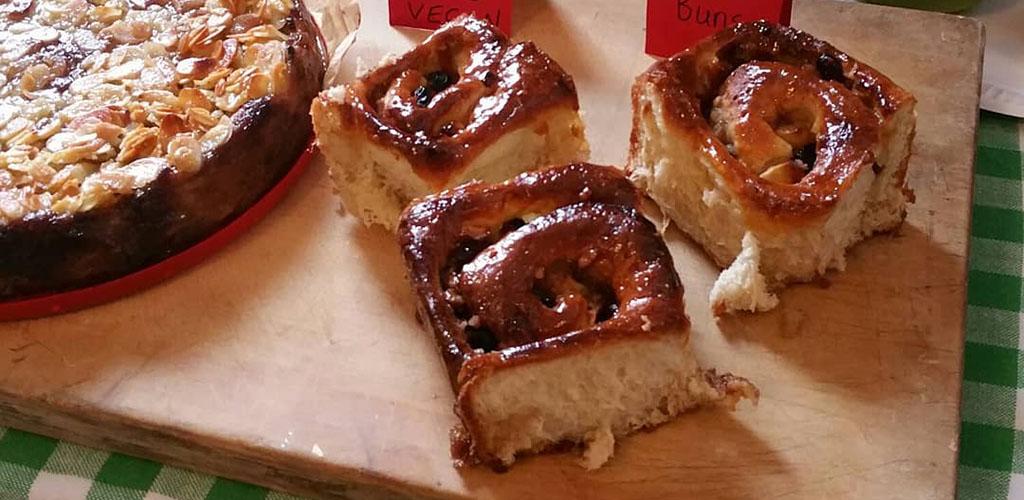 Vegan pastries from Natural Food Store