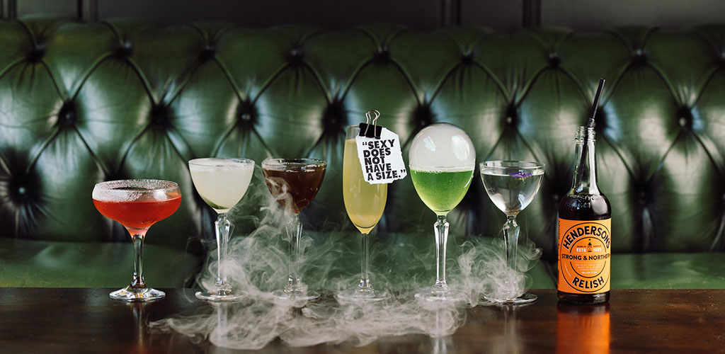 Various cocktails from Old House