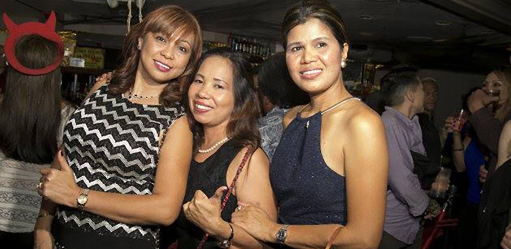 Beautiful older women in Rumours Nightclub