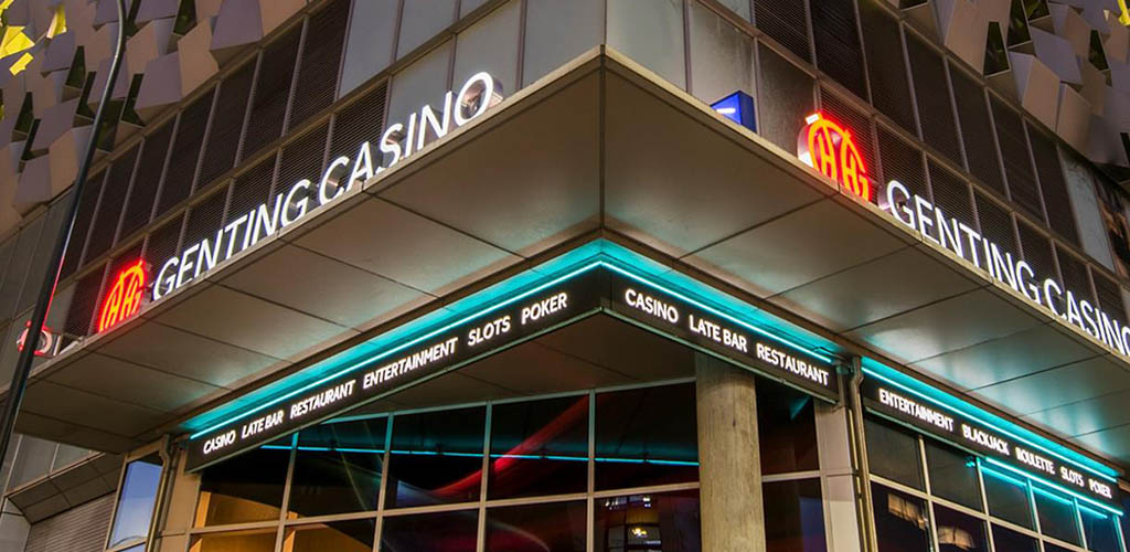 Entrance to the Genting Casino