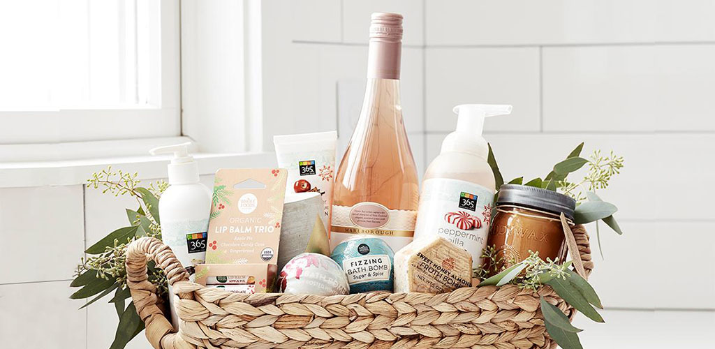 Skincare and wine from Whole Foods Market