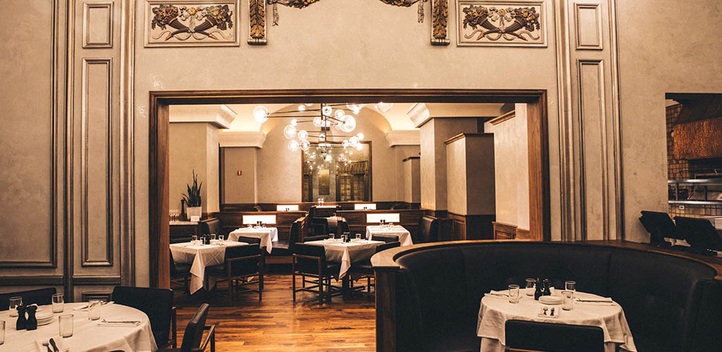 The elegant dining area of Zelo