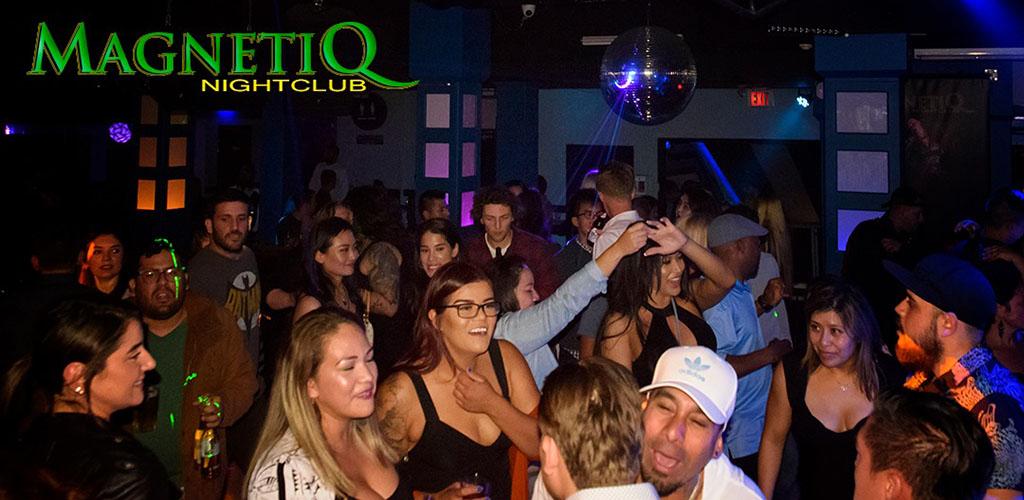 Mature women in the dance floor of Magnetiq Club Lounge