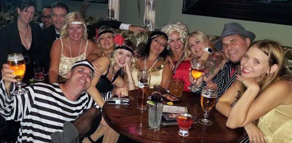 A 120s theme party at Sawbucks Pub