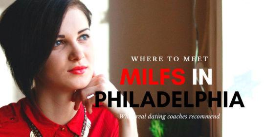 A beautiful Philadelphia MILF in a restaurant